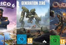 ©Kalypso ©Avalanche Studios ©Deep Silver tropico 6 generation zero outward games trailer time
