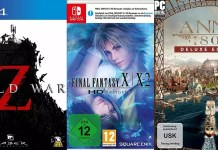 ©Mad Dog ©Square Enix ©Ubisoft world war z final fantasy 10 10-2 hd anno 1800 games trailer time