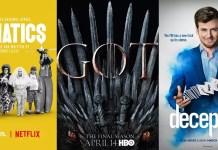 ©Netflix ©HBO Entertainment ©ABC Lunatics game of thrones deception serien trailer time