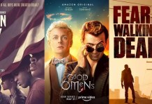 ©Netflix ©Amazon ©AMC When They See us, good omens, fear the walking dead, serien trailer time