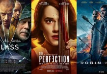 ©The Walt Disney Company ©Netflix ©Studiocanal glass the perfection robin hood film trailer time