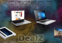 ©CitizenZ Deals der Woche MacBook Air HP Notebook Crucial SSD Rabatt