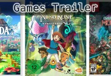 ©Nintendo ©Bandai Namco ©Merge , Zelda Link's Awakening , Ni no Kuni Der Fluch der Weißen Königin , Children of Morta , Games Trailer Time.