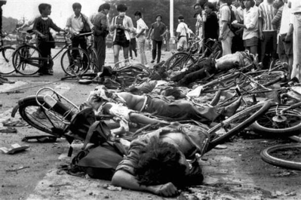 China Hong Kong Tiananmen Crackdown