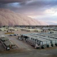 Tempête de sable en Irak