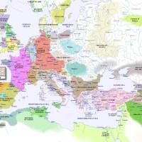 L'Europe, en 900