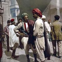À Tunis (Tunisie) en 1899