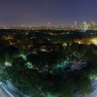 Central Park (New York) by night