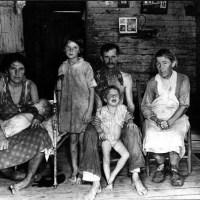 Victimes de la Grande Dépression de 1929