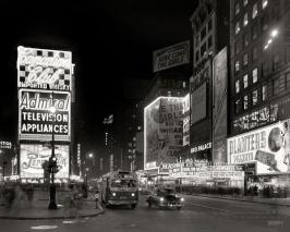 Times Square en 1953
