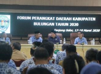 Susun Rencana Kerja 2021, Pemkab Gelar Forum OPD