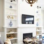 Citrineliving Living Room Bookshelves