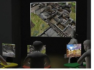 Virtual Archaeology exhibit at the CITRIS Tech Museum, April 16-22