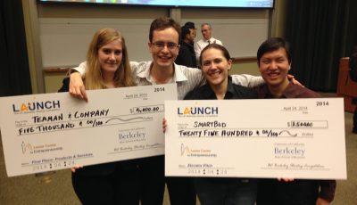 CITRIS Foundry Companies Win at 2014 UC Berkeley Startup Competition (LAUNCH)!