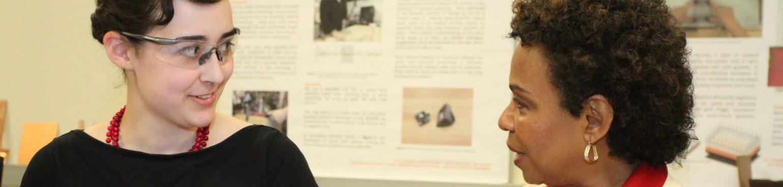 Rep Barbara Lee visits Invention Lab