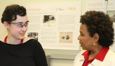 Congresswoman Barbara Lee Tours UC Berkeley