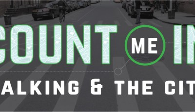Count Me In: Walking and the City event on urban mobility
