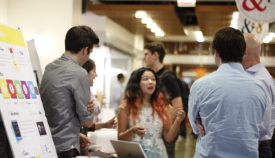 Students Demo Final Projects for Interactive Device Design and User Interface Design
