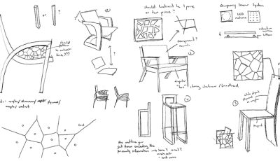 Interactive seating: New course models design innovation education