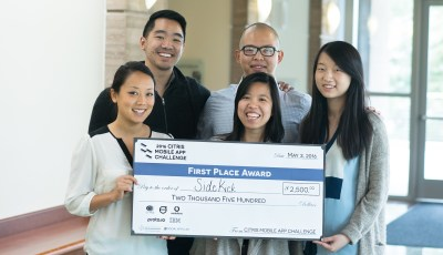 SideKick Wins 2016 CITRIS Mobile App Challenge at UC Berkeley