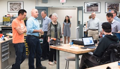 CITRIS Welcomes UC Berkeley Chancellor-Designate Carol T. Christ for Tour of Innovation Labs