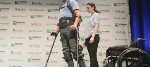 At TC Sessions: Robotics 2018, SuitX co-founder Homayoon Kazerooni demonstrated exoskeletons to help support workers and spinal cord injury survivors.