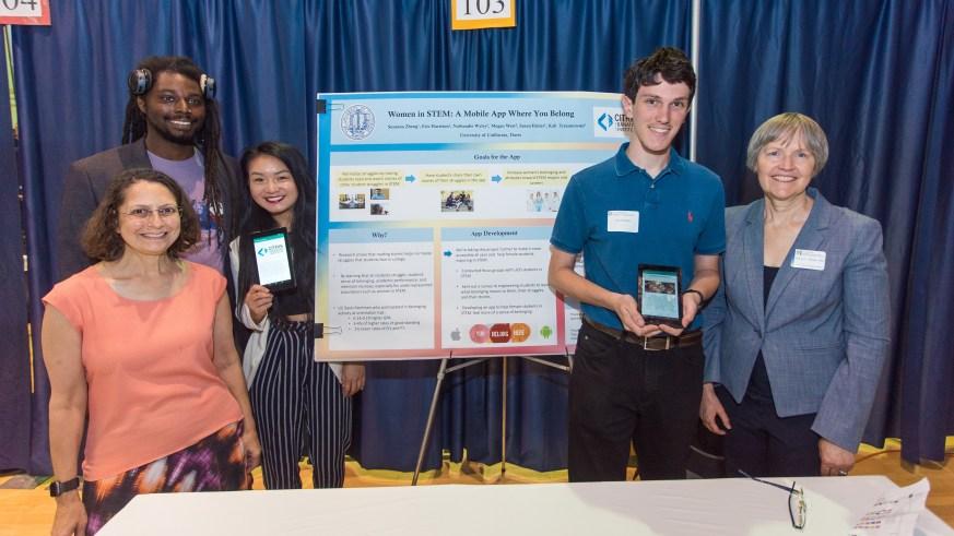 CITRIS Tech for Social Good at UC Davis 2019 - Belonging App