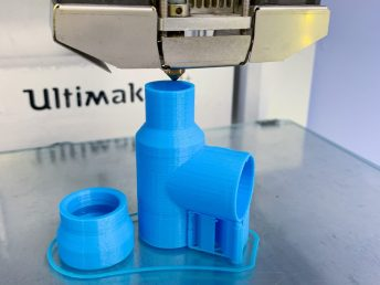CITRIS Invention Lab - 3D printing of a ventilator part for prototype