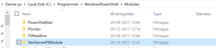 PowerShellModulesFolder
