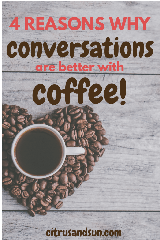Conversation over coffee