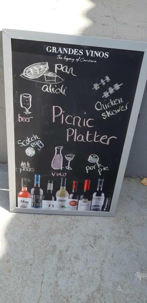 Music picknic menu