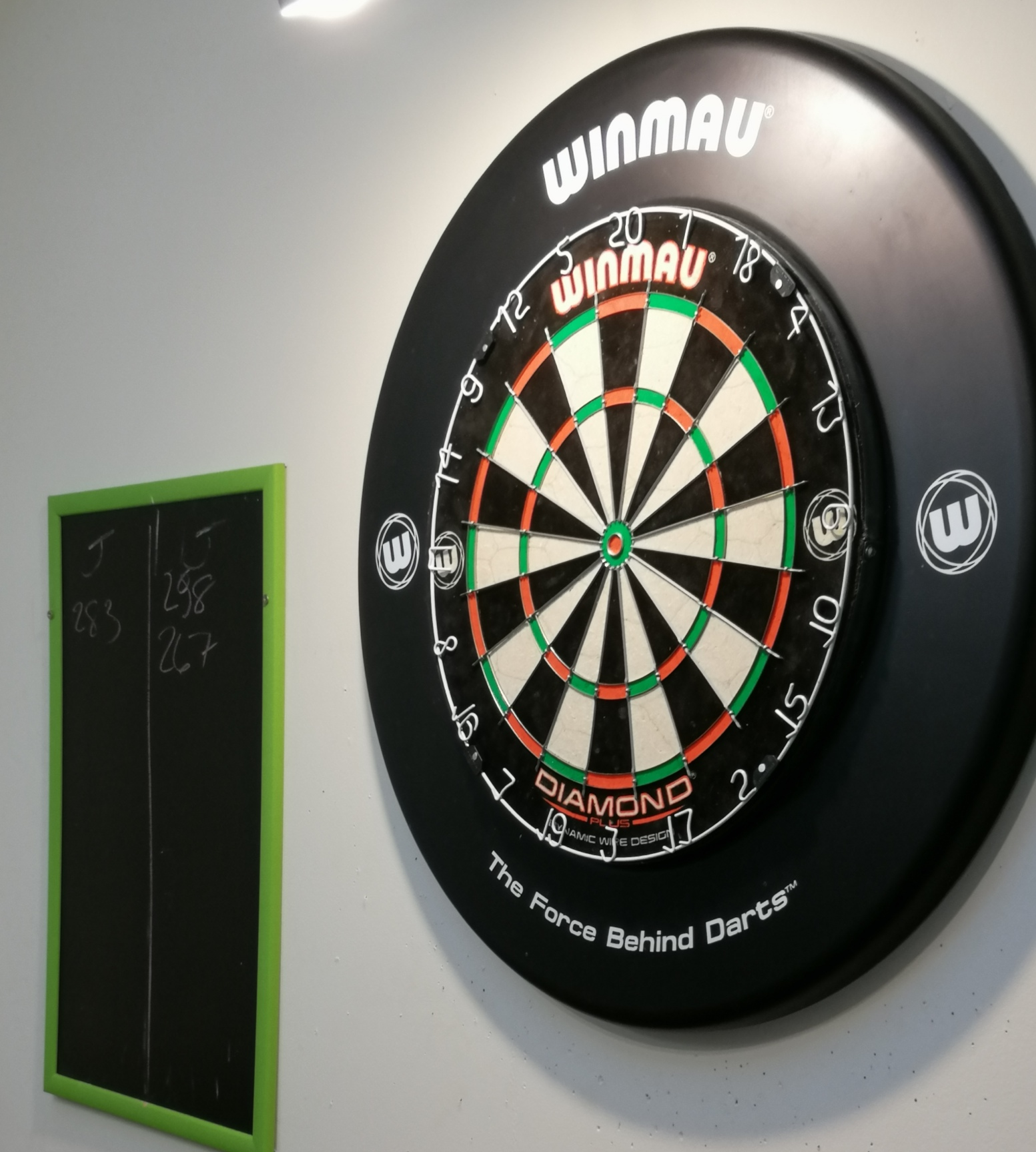 dart board at Citrus