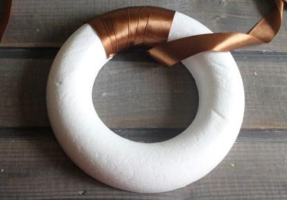 пенопластовый круг для венка