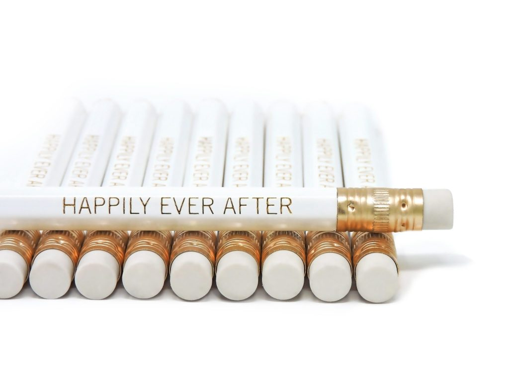 happily-ever-after-pencils-stacked