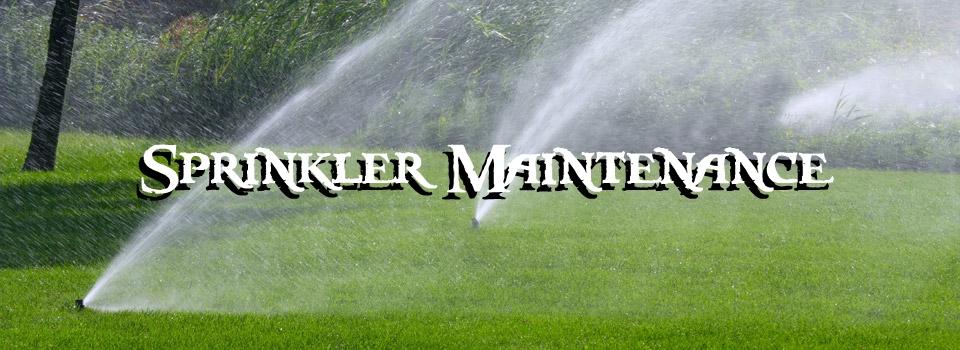 sprinkler maintenance