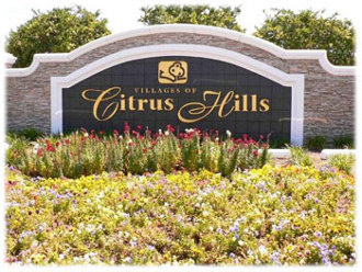 citrus hills Florida sign