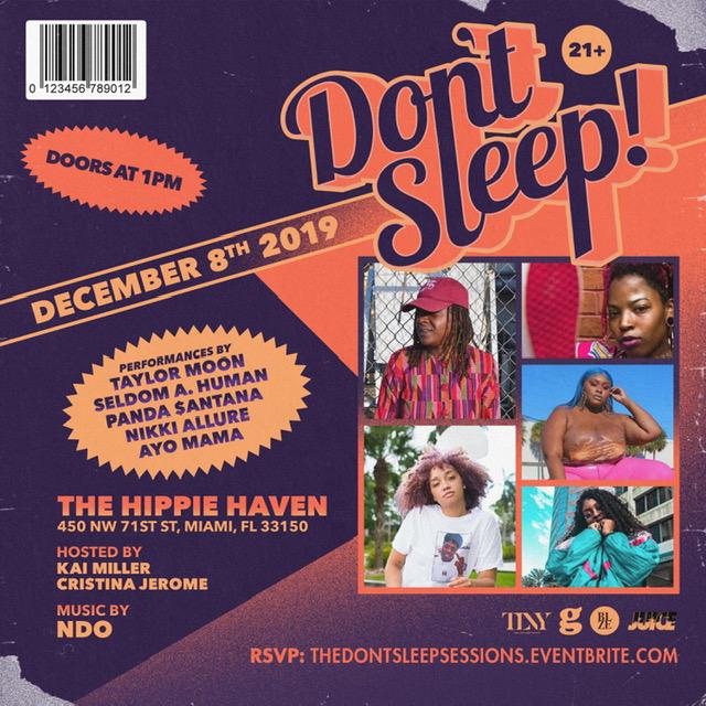 #DontSleep