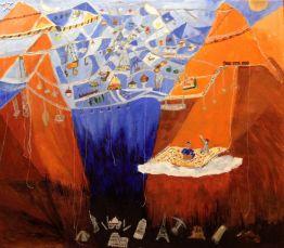 OTTAVIA - olio su tela - cm. 100 x 90
