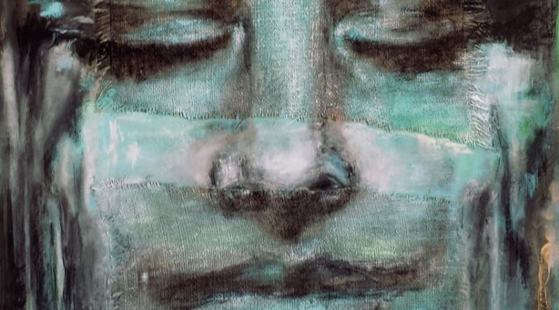ZOBEIDE - tecnica mista - cm. 70 x 100