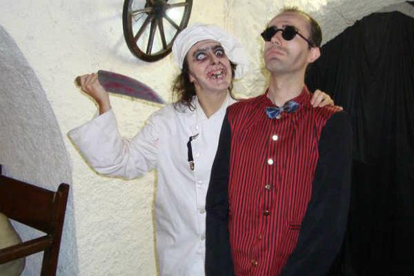 Mystery solving in La Masia Encantada, Spain