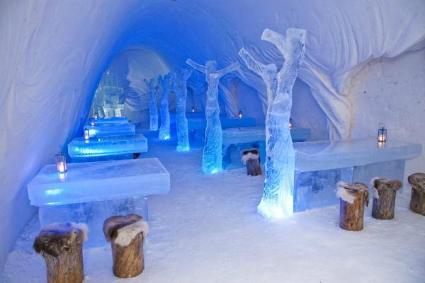 Snow-Restaurant in Kemi, Finland
