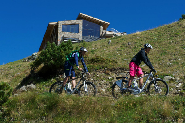 Mountain biking in Ischgl