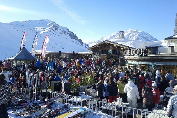 Apres ski in Courchevel