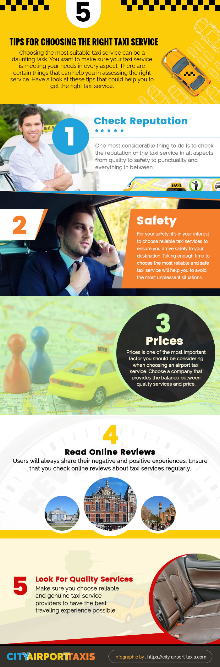 5 Tips For Choosing the Right Taxi Service