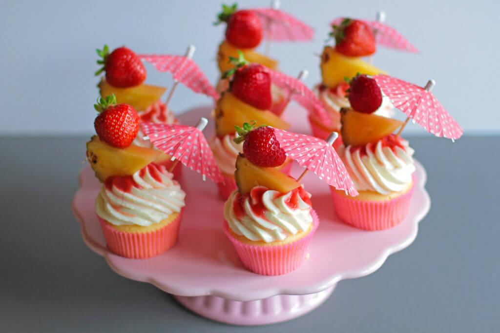 Lava Flow Cupcakes - City Cupcakes