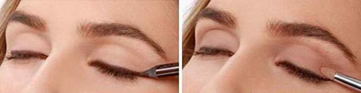 काली छाया के साथ आंखों को कैसे चित्रित करें