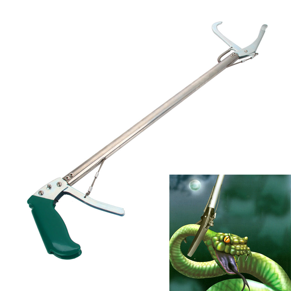 Compact Helpful Aluminum Alloy Snake Catcher Stick Tong EBay