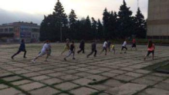 В Изюме проходят бесплатные тренировки-1