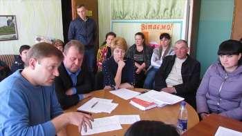 Продолжается процесс добровольного присоединения сел Каменского сельского совета до города Изюм