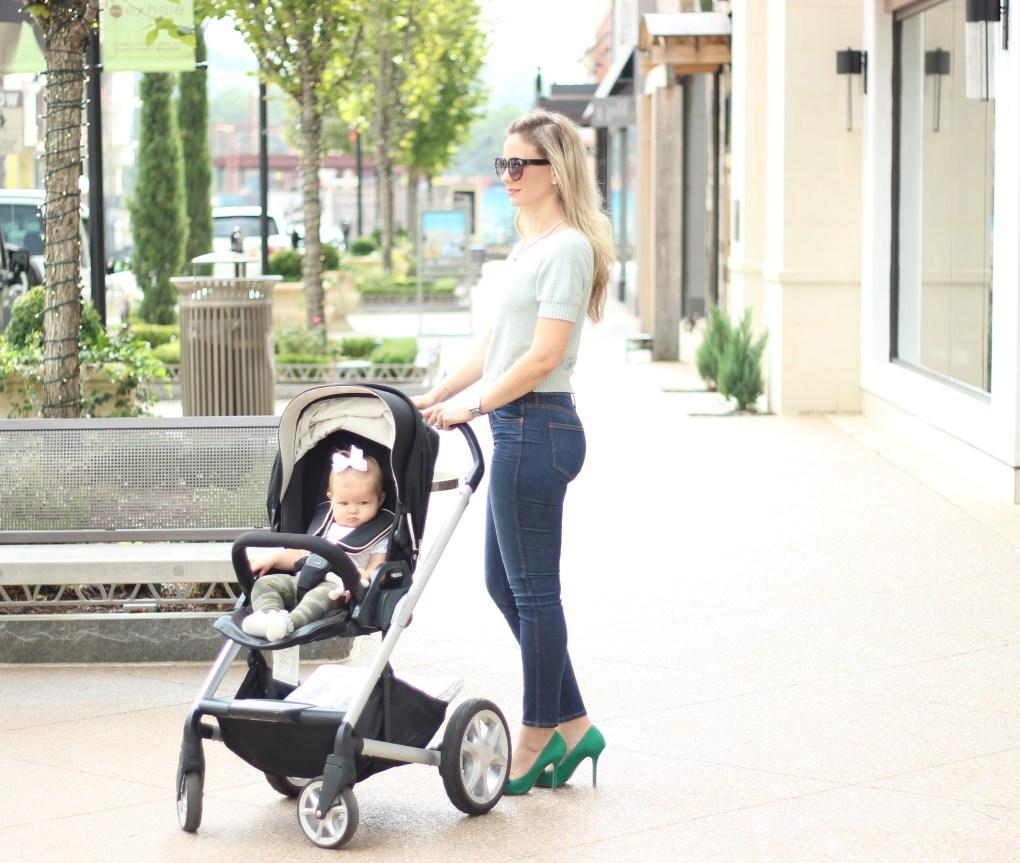 city-peach-mommy-and-me-nuna-stroller
